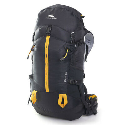 NEW High Sierra Colts Backpack Black/Orange 30L