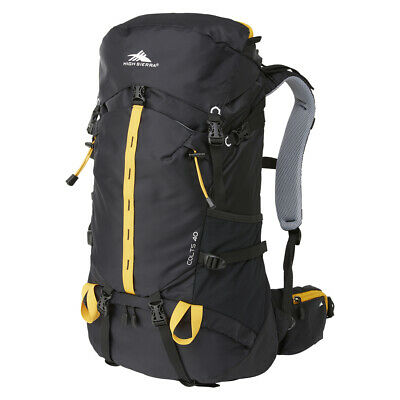 NEW High Sierra Colts Backpack Black/Orange 40L