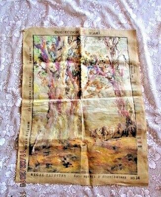 VINTAGE TAPESTRY COLLECTION D'ART Australian Series  No. 34 -Worked Approx. 60%