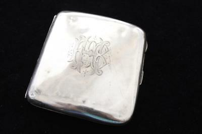 Antique 1901 English Birmingham Silver Patterned Cigarette Holder