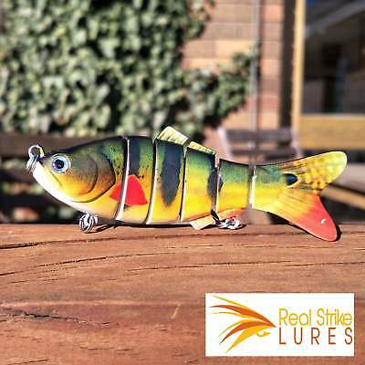 100mm swimbait Lures Trout Murray Cod Fishing Lure Yellowbelly Salmon Flathead