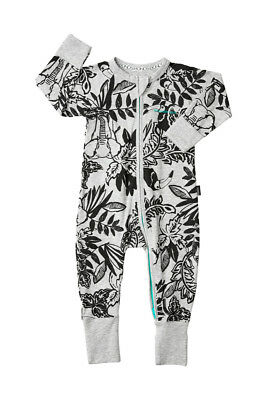 Bonds Baby Long Sleeve Zip Wondersuit Romper sizes 000 00 0 1 3 Toucan Play