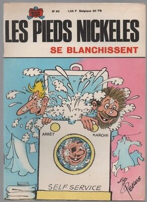 Les Pieds Nickeles N°65 ... Se Blanchissent ... Eo 1969