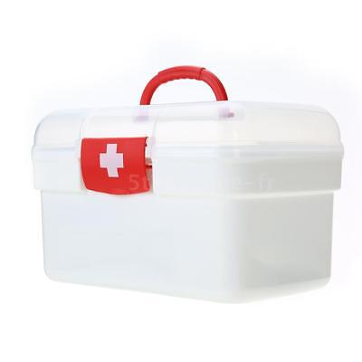 129PCS All Purpose First Aid Kits Box for Home Car Outdoor Family Emergency T5T3