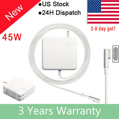 For APPLE A1369 A1370 MACBOOK Air 45W Power Adapter Charger A1244 A1374 L-tip