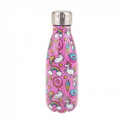 NEW Oasis Insulated Drink Bottle 350ml - Unicorn