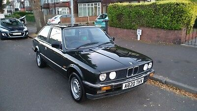 1983 BMW E30 320i 2 door 5spd manual, low miles at 93k, 3 previous owners