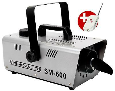 Showlite Sm-600 Schneemaschine 600W Foto Studio Film Snow Effect Remote Control