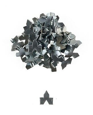 8x Everhang PUSH POINT GLAZIER FRAMING PINS 50Pieces Zinc Plated Steel