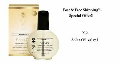 CND Solar Oil Nail Cuticle Conditioner 68ml x 2 -Special Price-