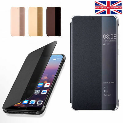 Luxury Flip Leather Phone Case Shockproof Cover Protector For Huawei P20 Pro
