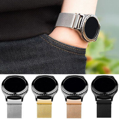 Samsung Gear S3 S2 Classic / Frontier Milanese Loop Wrist Watch Strap Band