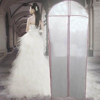 Brand New Breathable Bridal Wedding Dress Gown Garment  Cover Storage Bag 180cm