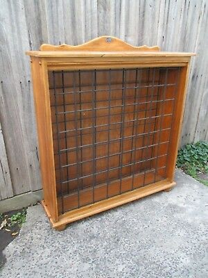 Wine rack stand cabinet. Hols 64 bottles. Solid timber with metal racks.