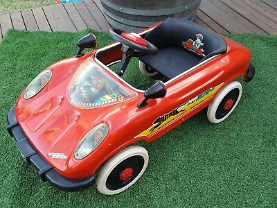 1970s Japanese Pedal Car:  Great Condition w/ Electrics