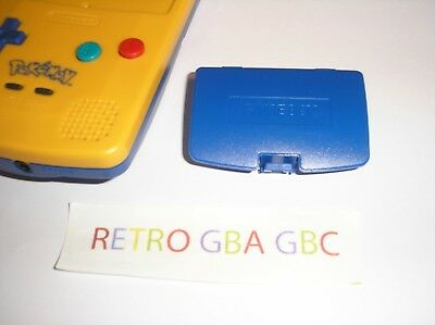 Cache Piles Bleu Pour Console Game Boy Color Pokemon Eur 15 00
