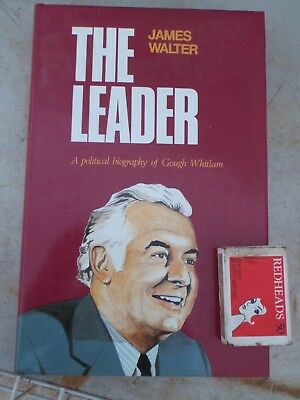 """Gough Whitlam ,   The Leader"""" 270 pages"""