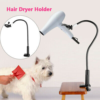 Dog Pet Cat Grooming Table Hair Dryer Clamp Clip Holder Flexible Arm Hose Set SP