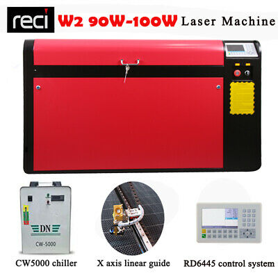 100W 1060 CO2 Laser Engraving Cutting Machine/MDF Wood Acrylic Cutter US Ship