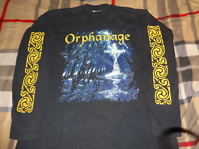 Only Here ORPHANAGE Oblivion LS XL Official 1995 Death Metal