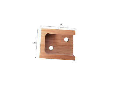 Manufacturing Kitchen Components - Square Rail End Support, Side Panel Fixing