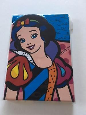 Disney Snow White Notepad by Romero Britto NEW