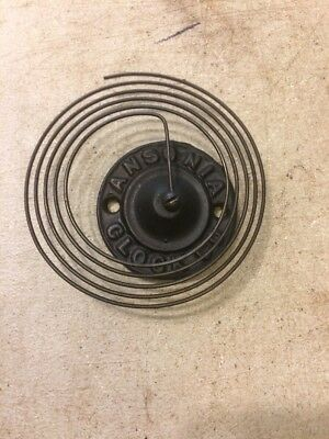 Ansonia Ginger Bread / Parlor Clock  Embossed Coil Strike Gong