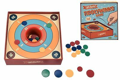 Tiddlywinks Game - Ty2182 Traditional Retro Family Fun Indoor Gift Set Toy Board