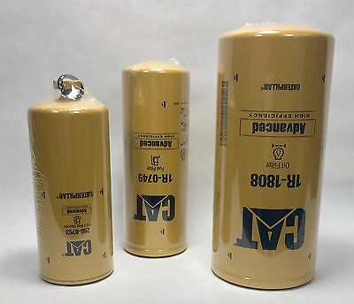 Caterpillar MXS BXS NXS SPD engine model OEM filter kit oil fuel Cat Kenworth