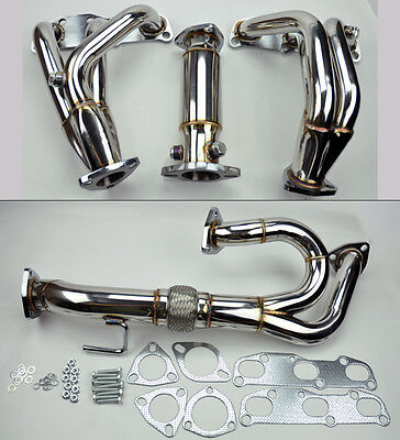 VQ35DE V6 EXHAUST Manifold Headers Downpipe Test Pipe FITS Nissan Altima  3 5L