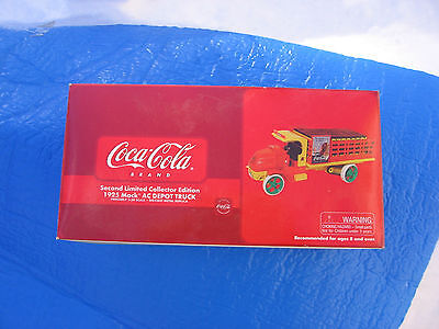 BOX ONLY Coca Cola Second limited collector edition 1925 Mack AC Depot Truck