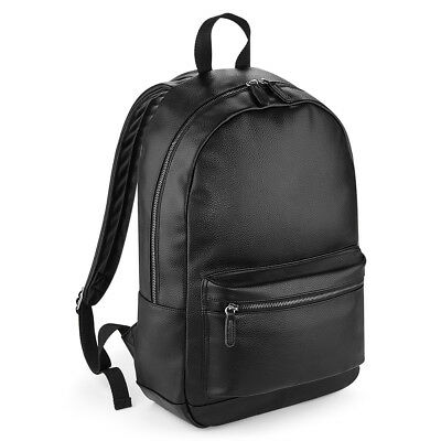 Faux Leather Fashion PU School Travel Gym Sports Festival Backpack Rucksack Bag