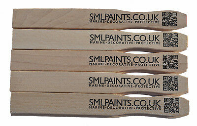 10 pack x 23cm Hardwood Paint Stirrers, Paint Mixing Sticks.  Only £2.50 + VAT.