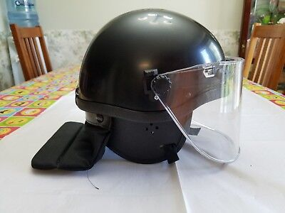 Police Riot Helmet-Believe to be used in KKK Protests- Great Halloween costumes!