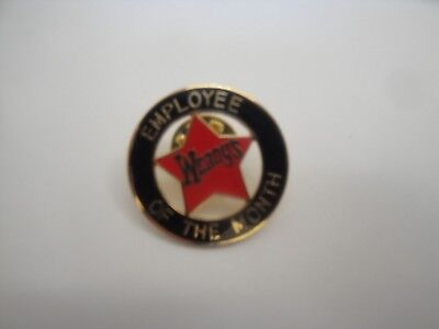 Wendy's Lapel Pin -  Employee of the Month