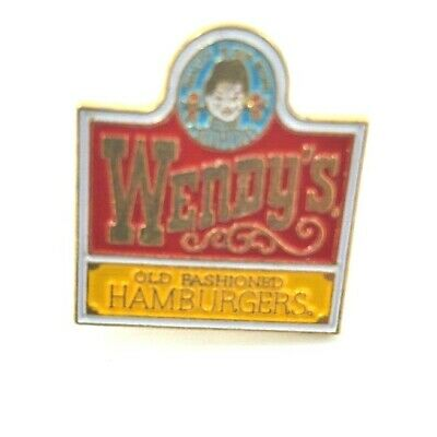 Wendy's Lapel Pin -  Wendy's Old Fashioned Hamburgers