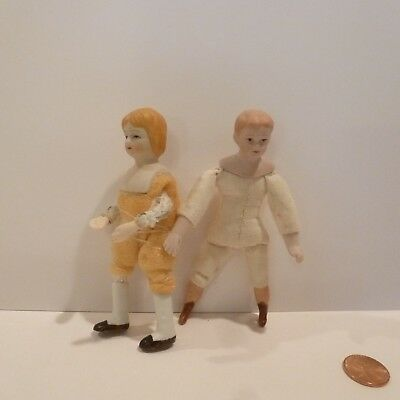 2 Miniature Porcelain Dolls Undressed  Deals Today 8/21 100 Listings For 10.00Ea
