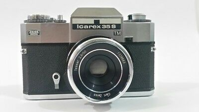 Camera Zeiss Ikon Icarex 35.5  TM and Carl Zeiss 50mm F2.8 Parts / Repair
