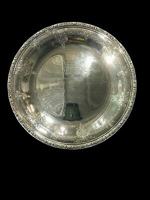 """Vintage Towle Old Master Sterling Silver 10 1/4"""" Plate No Mono USED 54512"""