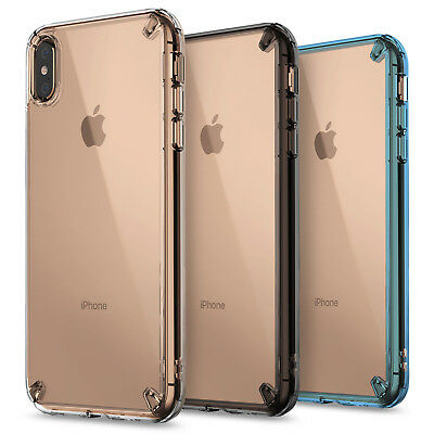 For iPhone XS Max, XR | Ringke [FUSION] Clear Shockproof Protective Cover Case