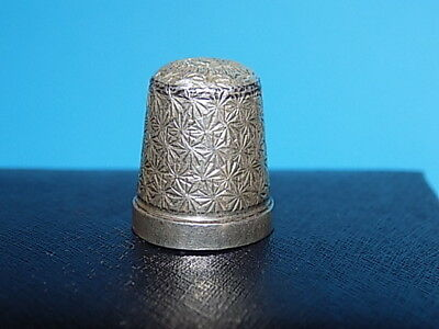 Sterling silver Thimble -  # 9