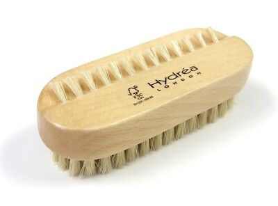 Hydrea Dual Sided Hand & Nail Brush with Natural Bristle (Medium Strength)