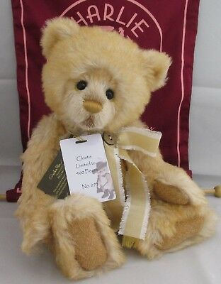 SPECIAL OFFER! Charlie Bears Mohair Collection CLOOTIE No 293/400 RRP £200