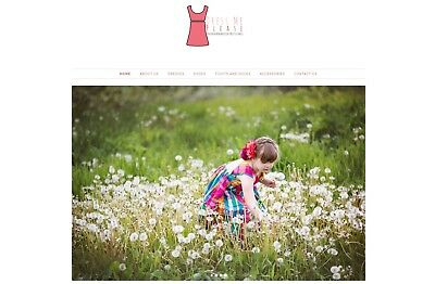Highly Profitable Kids Fashion Ecommerce Online Dropshipping Website Business