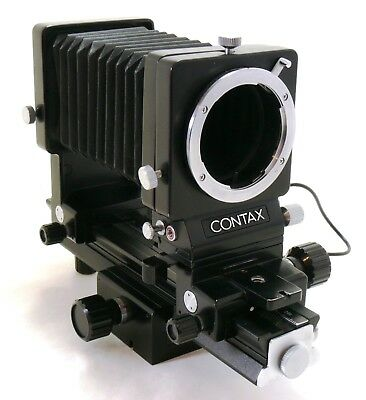 Contax Auto Extension Bellows tilt / shift with cable, Contax C/Y mount EXC++