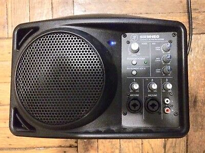 Mackie SRM150 Speaker Compact Monitor Mixer Great Condition