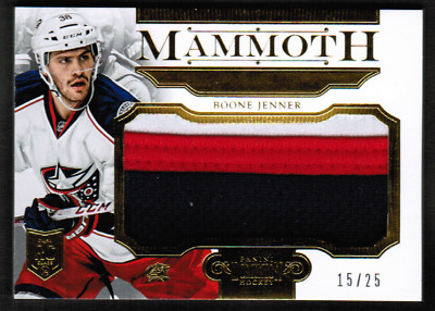 2013-14 Dominion Mammoth Prime #MBJE Boone Jenner Patch Rookie #/25 (ref 34002)