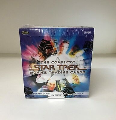 The Complete Star Trek Movies - Sealed Trading Card Hobby Box - Rittenhouse 2007