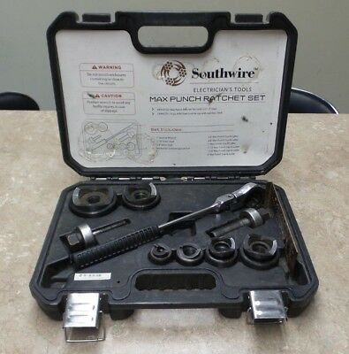 Southwire Electrician's Tools Max Punch Ratchet Set With Dies, MPR-01SD - E3124
