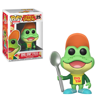 Funko Pop! Ad Icons: Kelloggs Honey Smacks - Dig Em' Frog 25 Vinyl